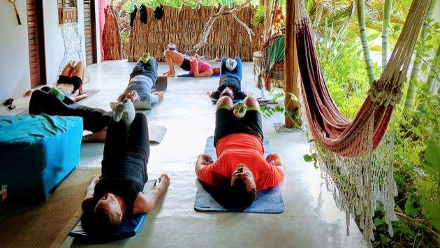 Votre séjour yoga initiation et massage shiatsu au Brésil