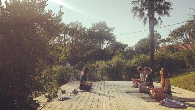 Votre séjour yoga à Bidart au Pays Basque
