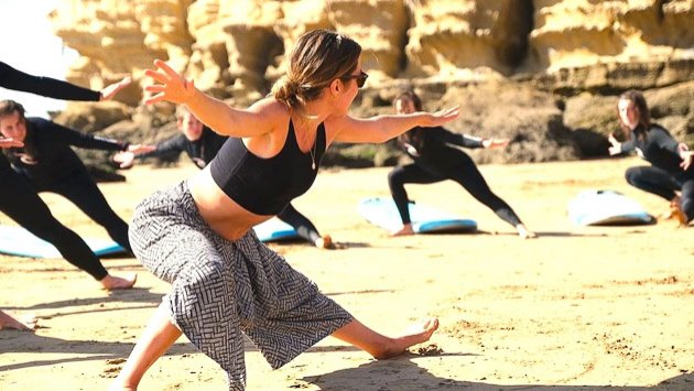 Des cours de yoga tous les jours pendant votre séjour au Portugal