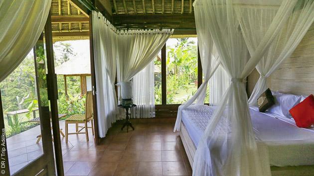 Votre hébergement tout confort pendant votre séjour yoga à Bali