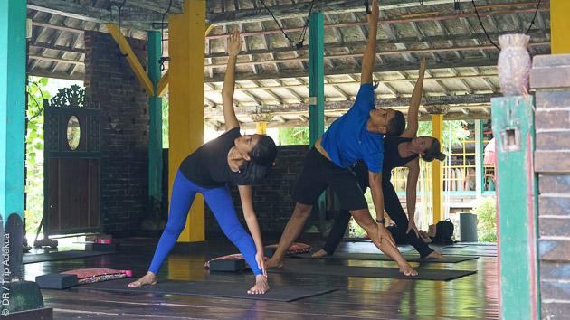 Des séances de yoga quotidiennes pendant votre séjour à Bali