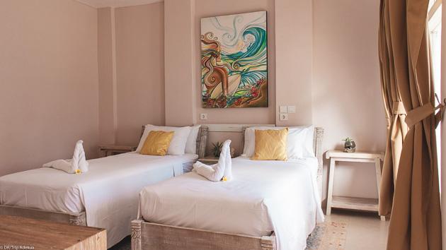 Votre chambre privative tout confort avec climatisation et wifi