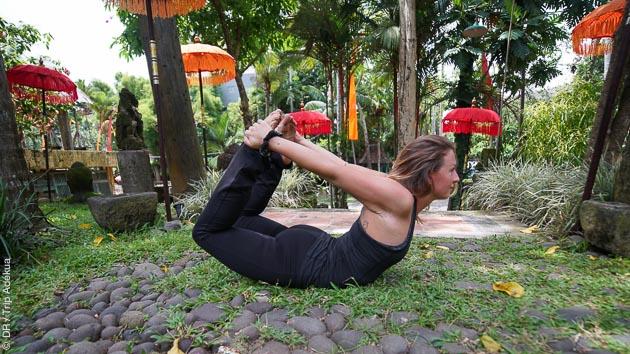Respirez, vous faites un séjour yoga à Bali en Indonésie