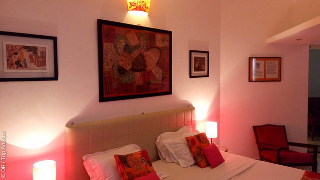 Un hébergement tout confort pendant votre séjour yoga en Inde