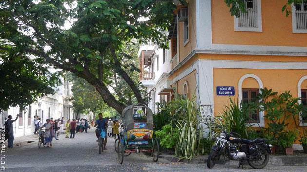 A la découverte de Pondichéry en Inde pendant votre séjour yoga
