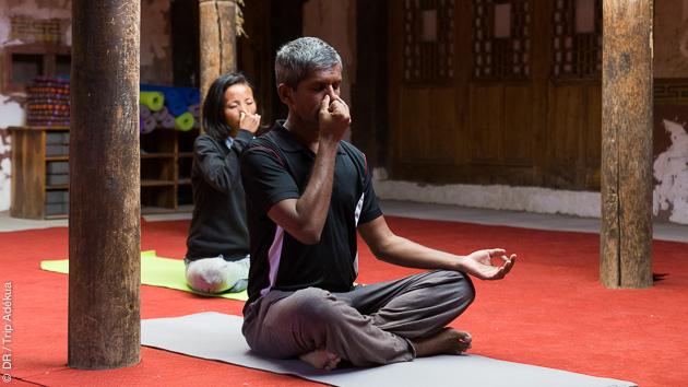 Un séjour aux sources du yoga en Inde
