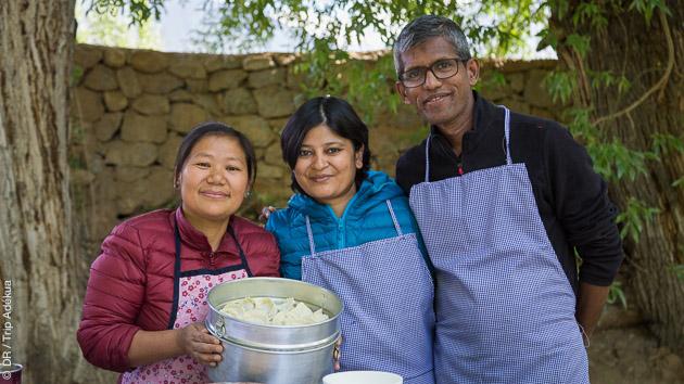 Venez ciusiner avec nous les recettes indiennes et ladakhies