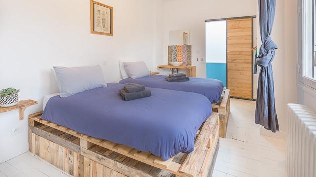 Des chambres décorées avec soin pour une détente totale à Bidart