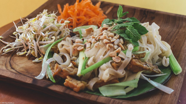 Goûtez à la cuisine indonésienne pendant votre séjour yoga