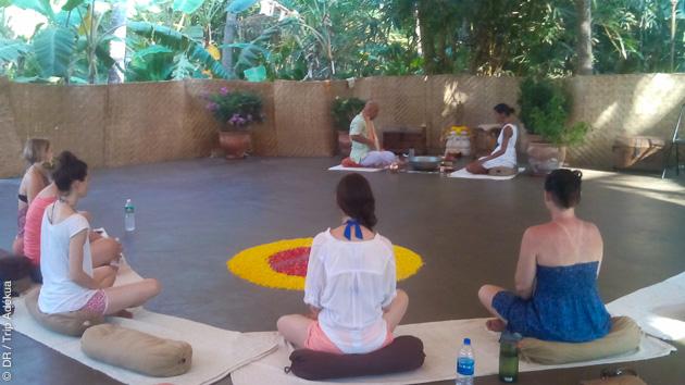 Le shala pour la pratique du yoga