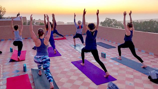 Stage de yoga à Imsouane au Maroc
