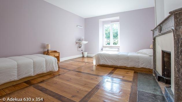 Hébergement en chambre partagée, dortoir ou chambre individuelle