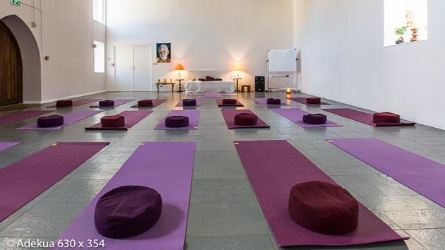 Votre shala pendant votre séjour yoga en Beaujolais