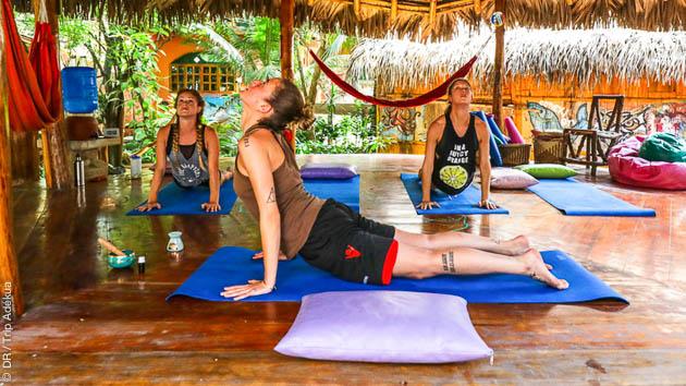 stage de yoga en Amérique du sud
