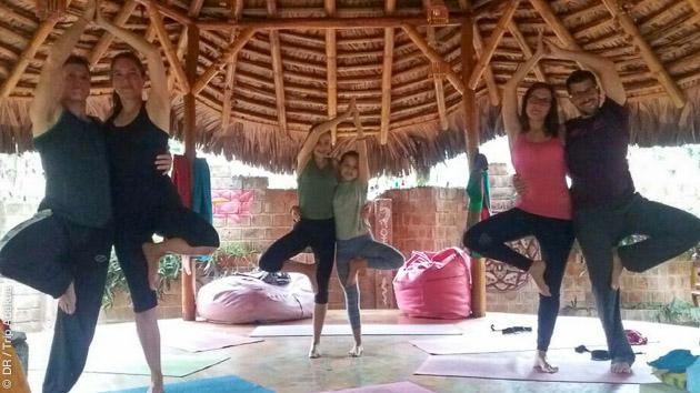 stage de yoga tous niveaux au chaud