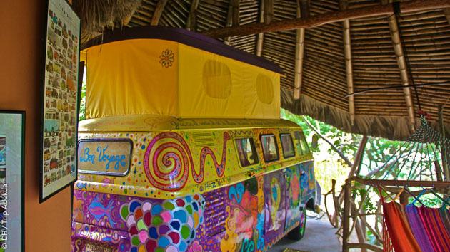 loger dans un combi WV en Equateur
