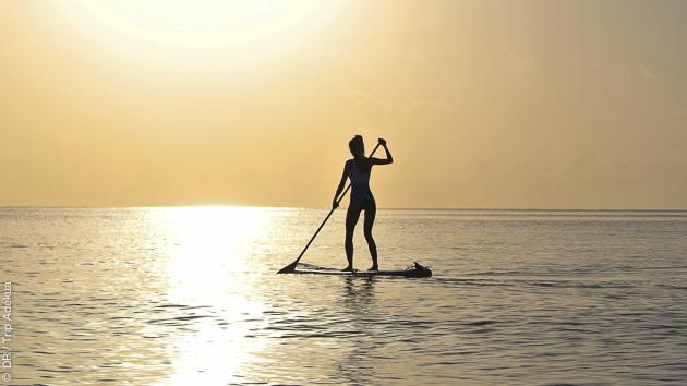 Yoga, mais aussi SUP pour savourer votre croisière aux Caraïbes