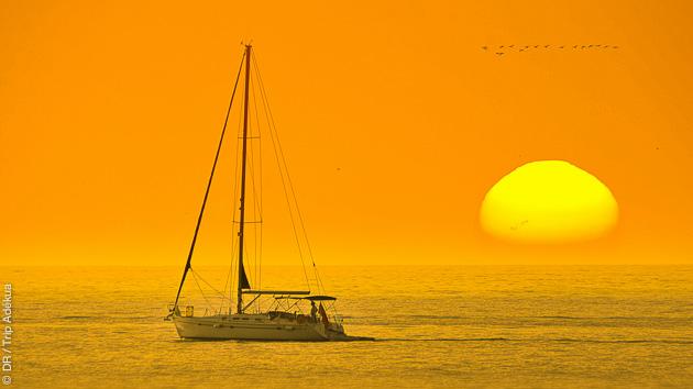 Un croisière en voilier aux larges de la Martinique