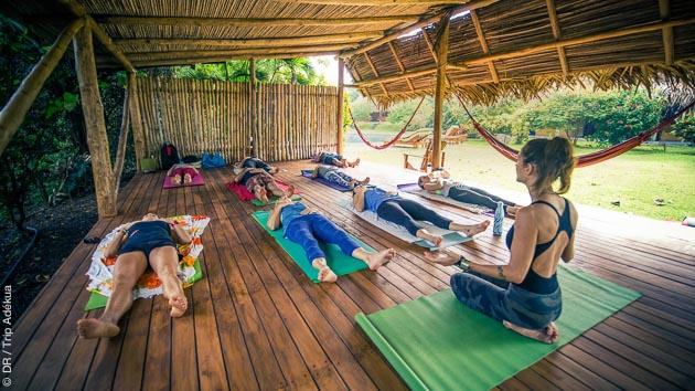 Cours de yoga et détente assurée au Costa Rica