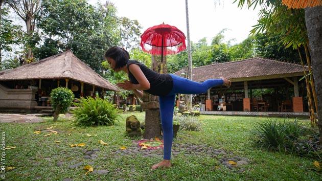 vacances avec du yoga à Bali